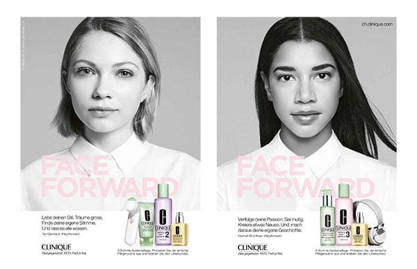 Clinique Face Forward Campaign