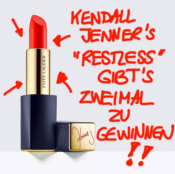 Estee Lauder Pure Color Envy Kendall Jenner limited Edition in Restless