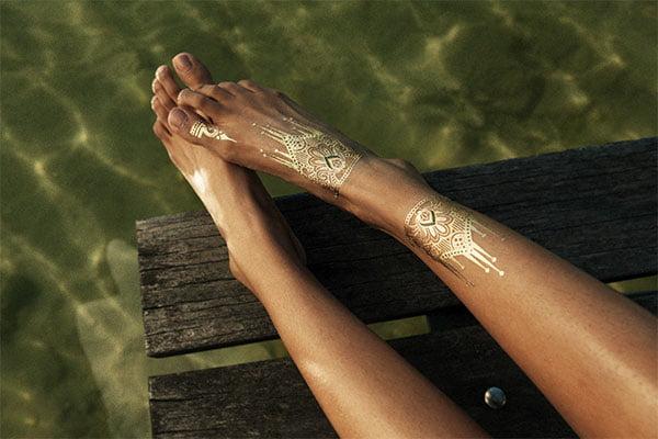 My Mantra Golden Tattoos, Press Image