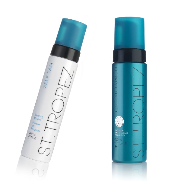 St. Tropez Bronzing Mousse and Express Bronzing Mousse
