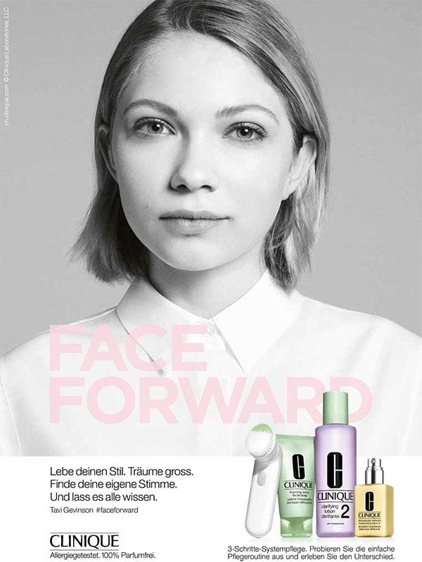 Clinique Face Forward Campaign with Tavi Gevinson