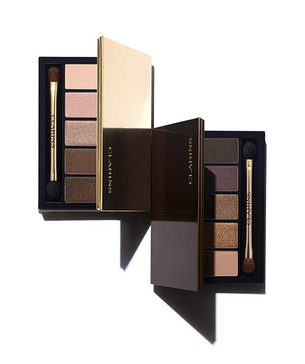 Palette 5 Couleurs in Pretty Day and Pretty Night, Clarins Fall Make-Up Collection 2015