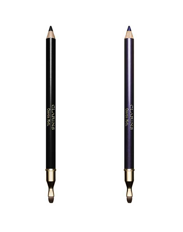 Clarins Crayon Knol in Carbon Black and True Violet, New in Fall 2015
