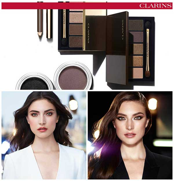 Clarins Fall Make-Up Collection 2015 Pretty Day & Night, Collage by Hey Pretty Beauty Blog