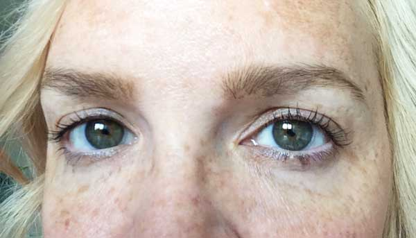 Wimpernlifting Resultat by Hey Pretty Beauty Blog, Elu Cosmetics Zürich