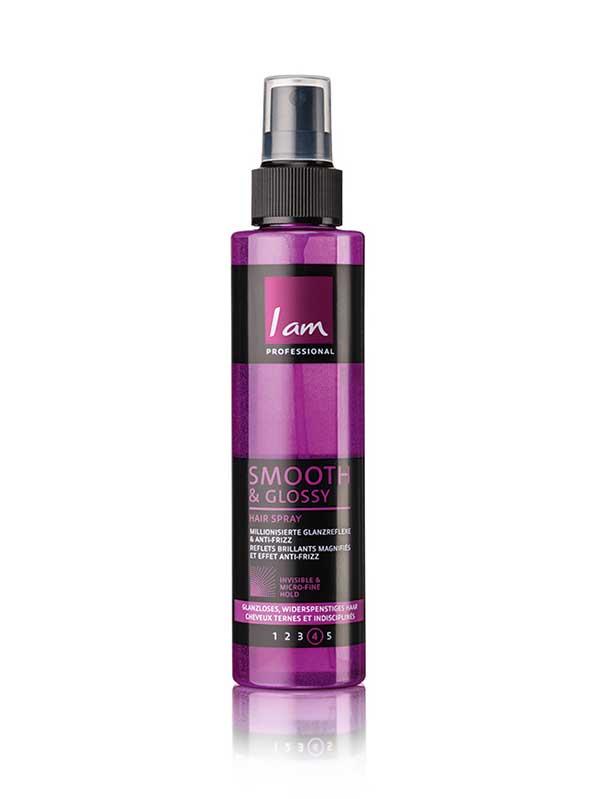 Iam_Professional_Smooth&Glossy_Hairspray