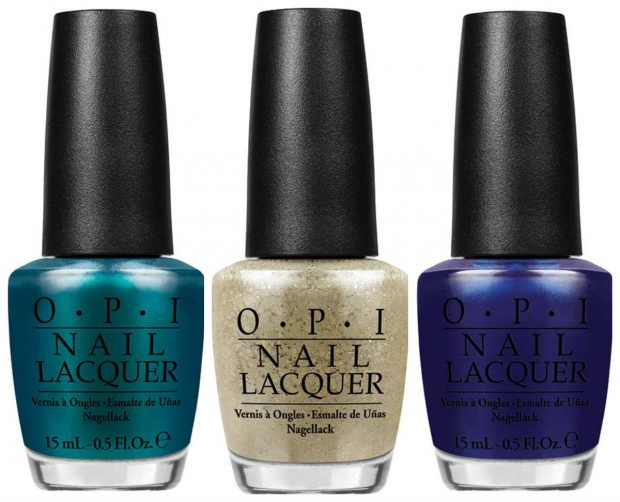 OPI Venice the Party, Baroque... but Still Shopping and St. Mark's The Spot (Venice Collection)