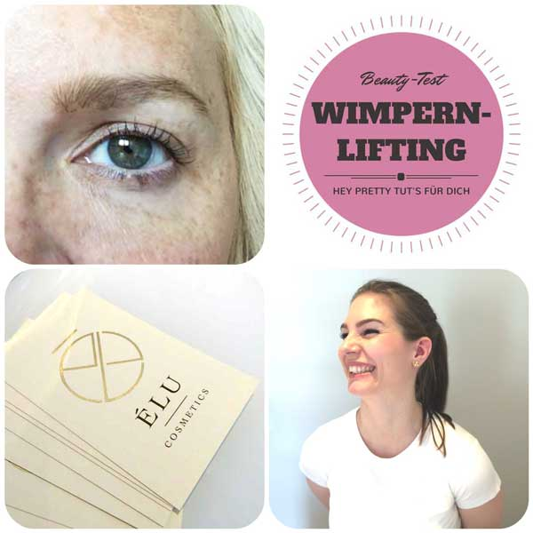 Wimpernlifting Review by Hey Pretty Beauty Blog, Elu Cosmetics Zürich