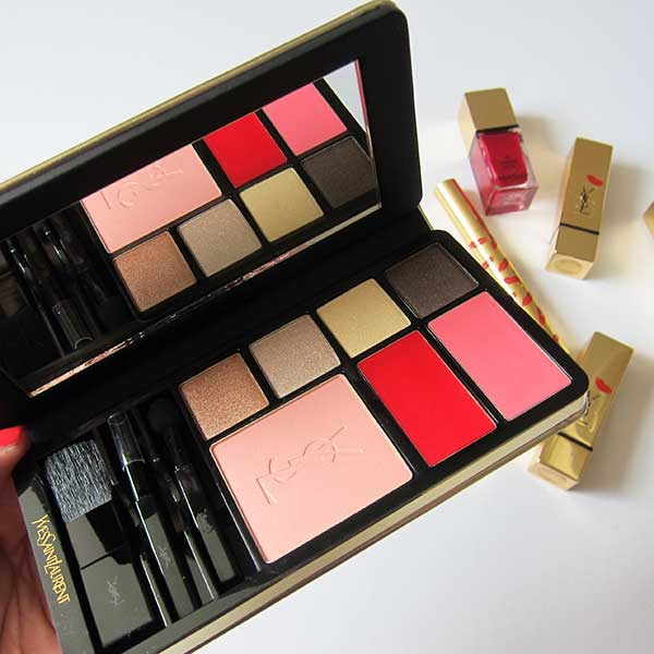 YSL Kiss & Love Palette, limited edition Holiday Look 2015, Image by Hey Pretty Beauty Blog