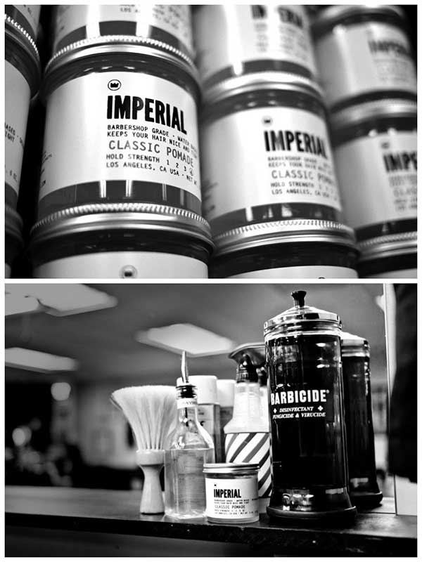 Imperial Barber Products Schweiz, Campaign Images