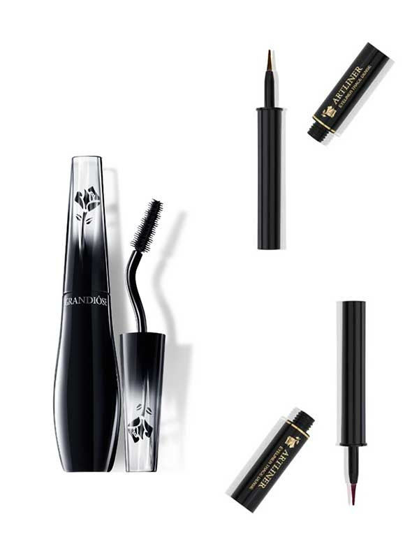 Lancome Happy Holidays Christmas Look 2015, Artliner in Bronze Orfèvre and Pourpre Aura