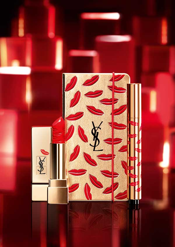 YSL Holiday Look 2015 Kiss & Love, Press Visual