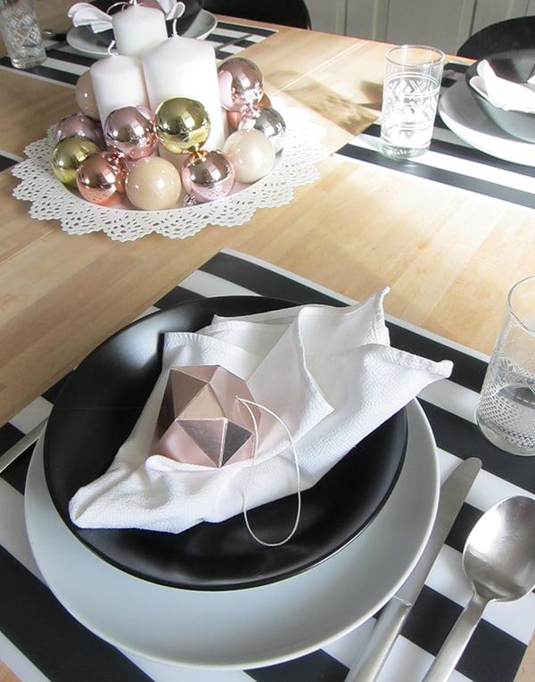 IKEA Weihnachten 2015, Tischdekoration, Image by Hey Pretty Beauty Blog