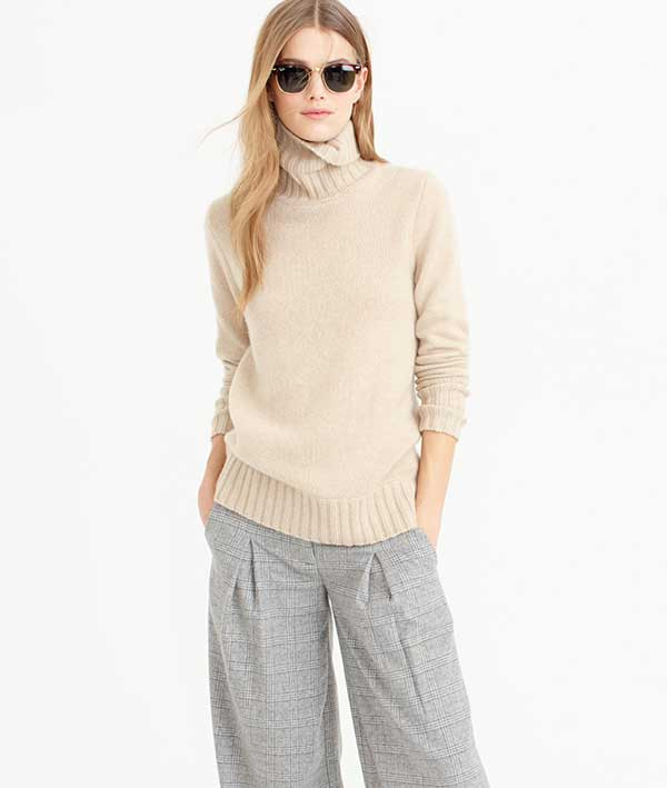 Collection Cashmere Chunky Knit Sweater by J. Crew