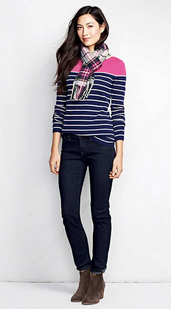 Land's End Year Round Cashmere Tunic Sweater