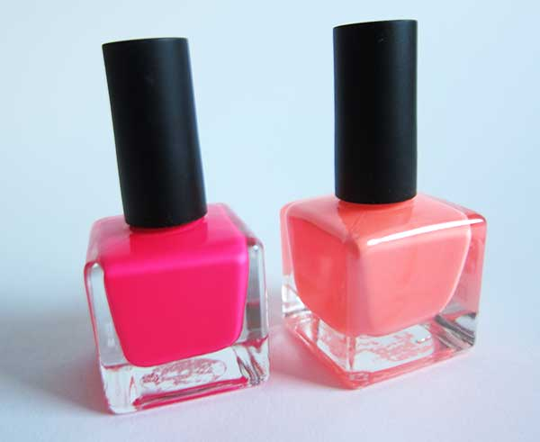 Urban Outfitters Neon Collection Nail Polish, Image by Hey Pretty Beauty Blog