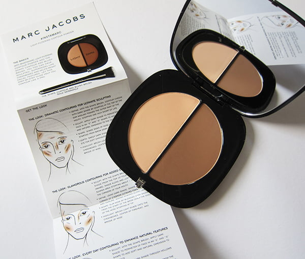 Marc Jacobs #Instamarc Light Filtering Contour Powder, Image by Hey Pretty Beauty Blog