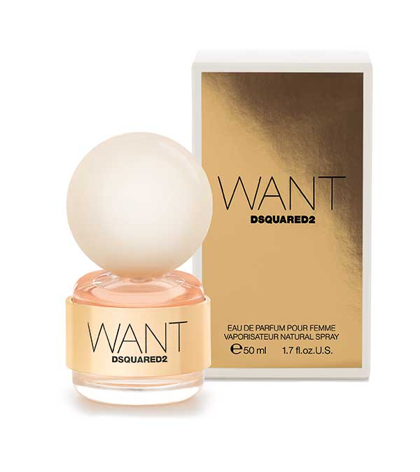 Dsquared2 Want Eau de Parfum 50 ml