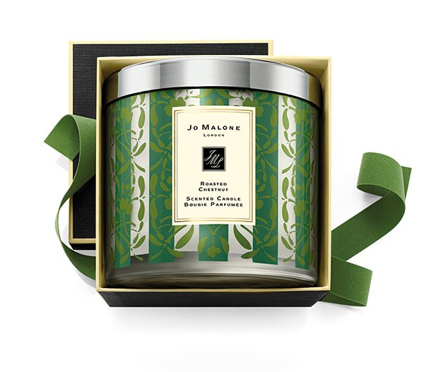 Jo Malone #HappyKissmas Holiday 2015 Collection: Roasted Chestnut Deluxe Candle