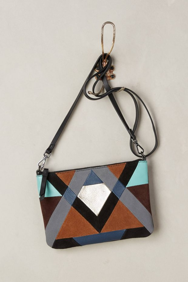 Fabrizio Colourblock Crossbody Bag, Image by Anthropologie