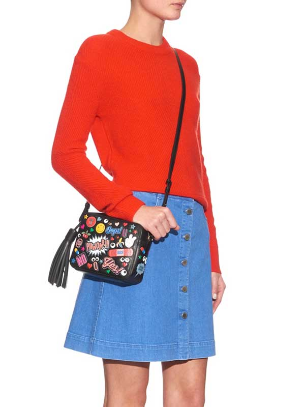 Anya Hindmarch All Over Wink Crossbody Bag, Image Copyright: Farfetch