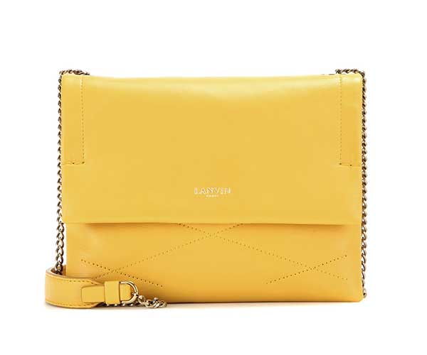 Lanvin Baby Sugar Leather Shoulder Bag