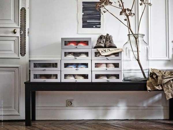 Ordnung: Schuhkarton HYFS von IKEA